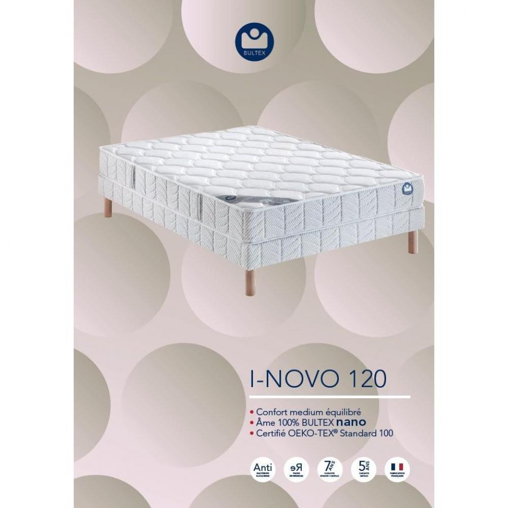 matelas chambre literie bultex matelas 80 190 cm i novo 120 paisseur 21 cm inside75. Black Bedroom Furniture Sets. Home Design Ideas