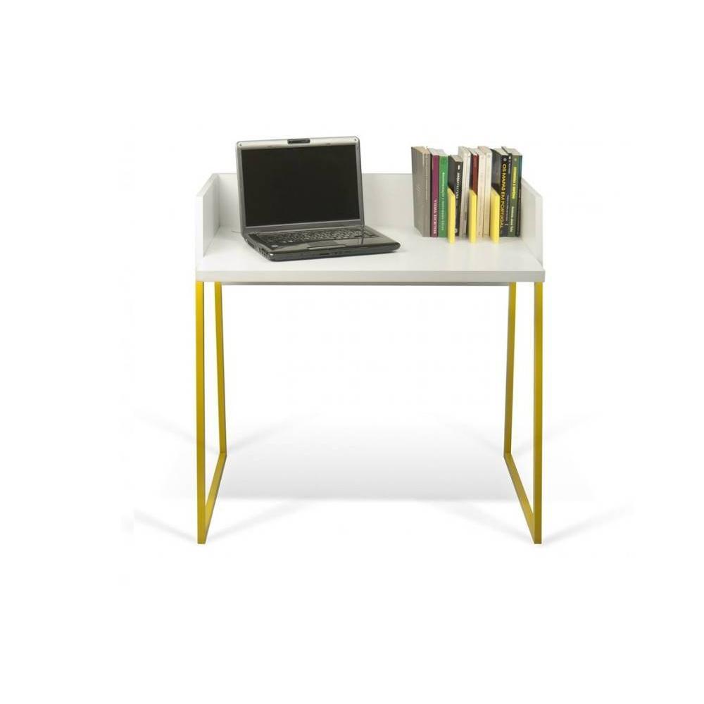 Bureaux meubles et rangements bureau design temahome volga jaune