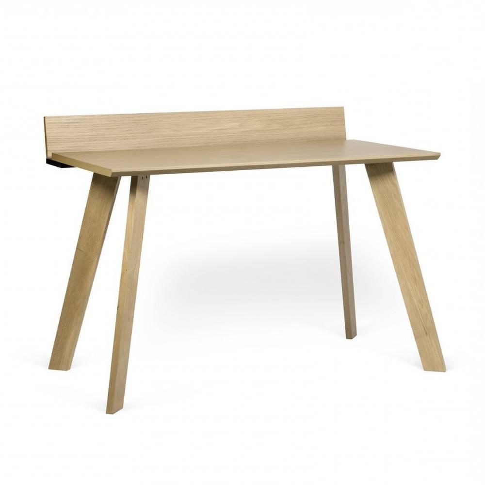 bureaux meubles et rangements bureau ralf scandinave ch ne et noir mat inside75. Black Bedroom Furniture Sets. Home Design Ideas