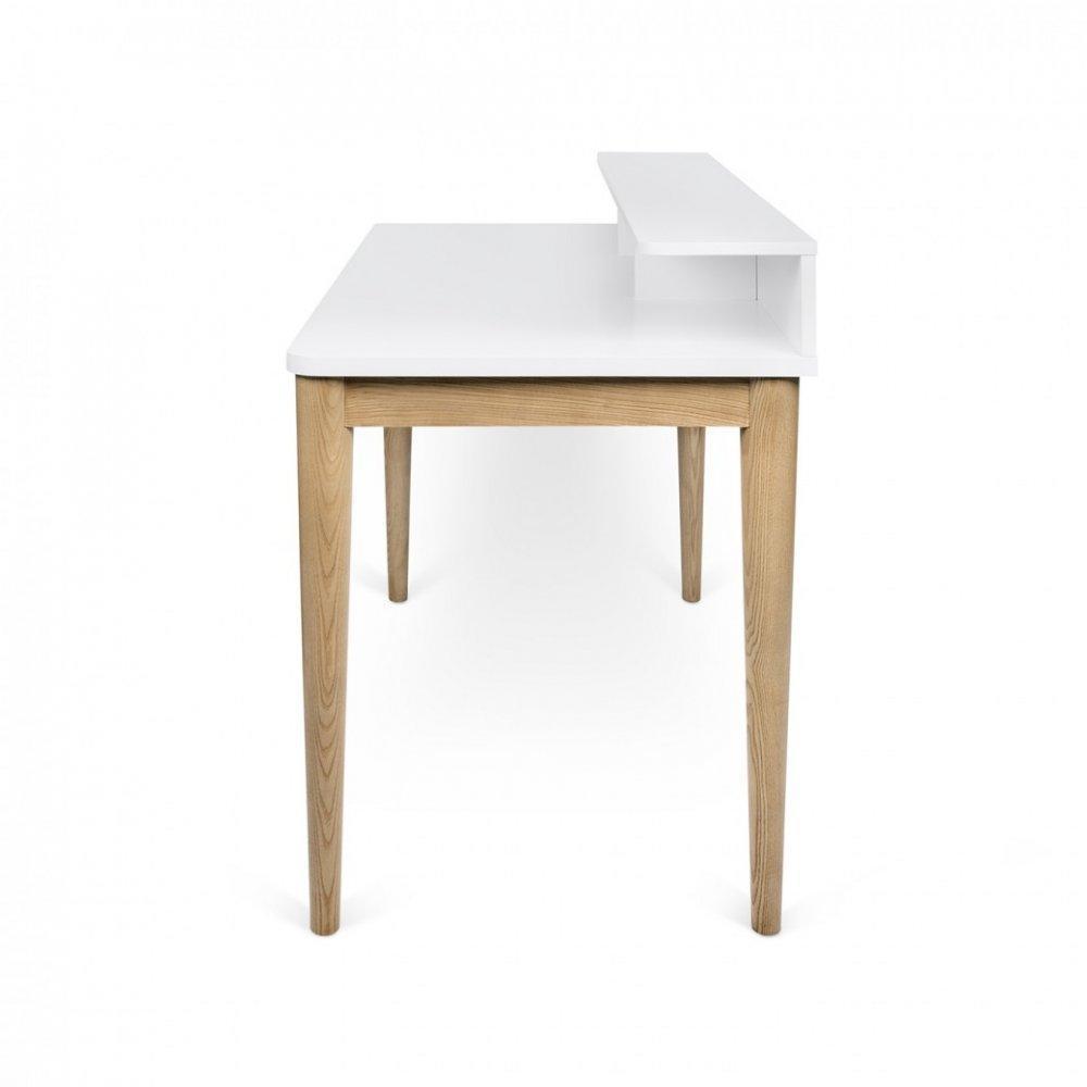 bureaux meubles et rangements temahome bureau xira ch ne avec plateau blanc inside75. Black Bedroom Furniture Sets. Home Design Ideas