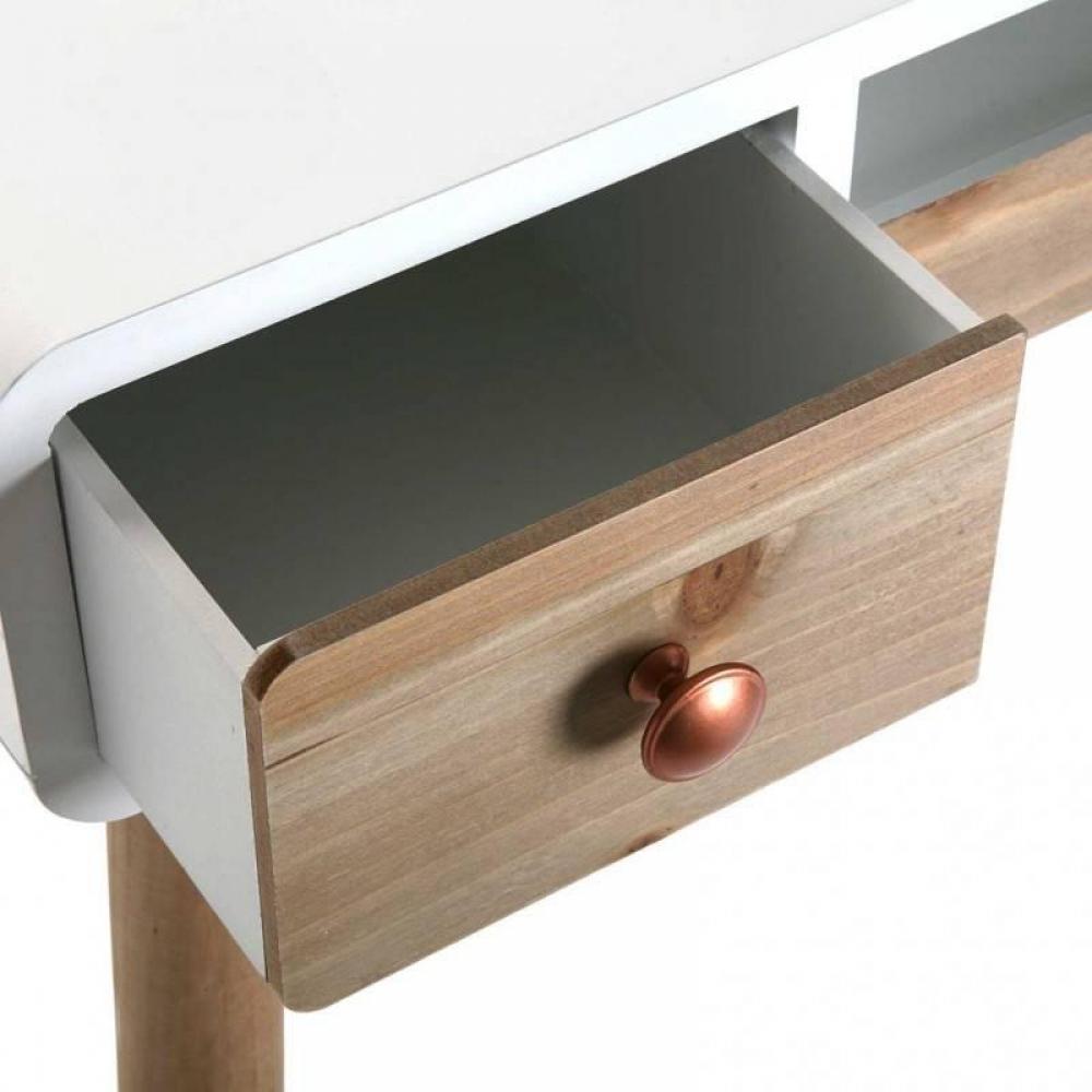 bureaux meubles et rangements bureau compact sylan style scandinave blanc inside75. Black Bedroom Furniture Sets. Home Design Ideas