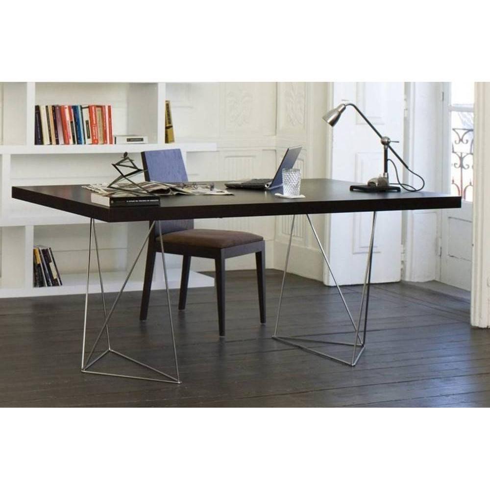Bureaux meubles et rangements bureau design trestles 180 for Meuble bureau 180 cm