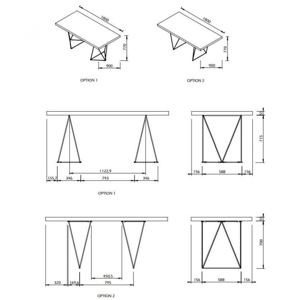 Meubles de bureau meubles et rangements bureau design for Meuble bureau 90 cm
