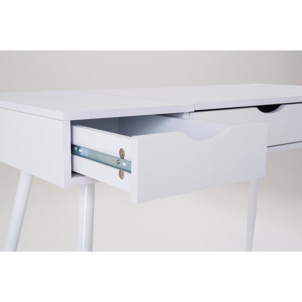 Bureaux meubles et rangements bureau worky2 design 2 for Meuble bureau 2 tiroirs