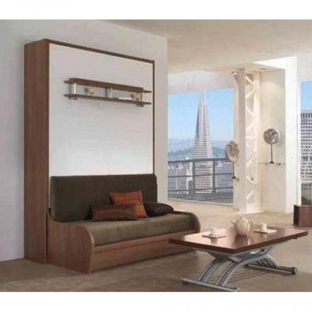 armoire lit escamotables au meilleur prix armoire lit 140cm escamotable campus sofa autoporteur. Black Bedroom Furniture Sets. Home Design Ideas