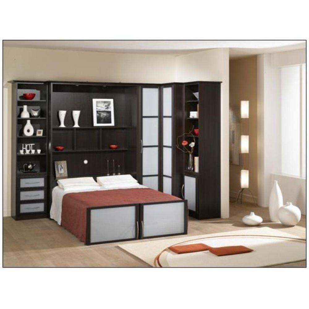Lit armoire escamotable conforama bureau rabattable ikea for Lits armoires adultes