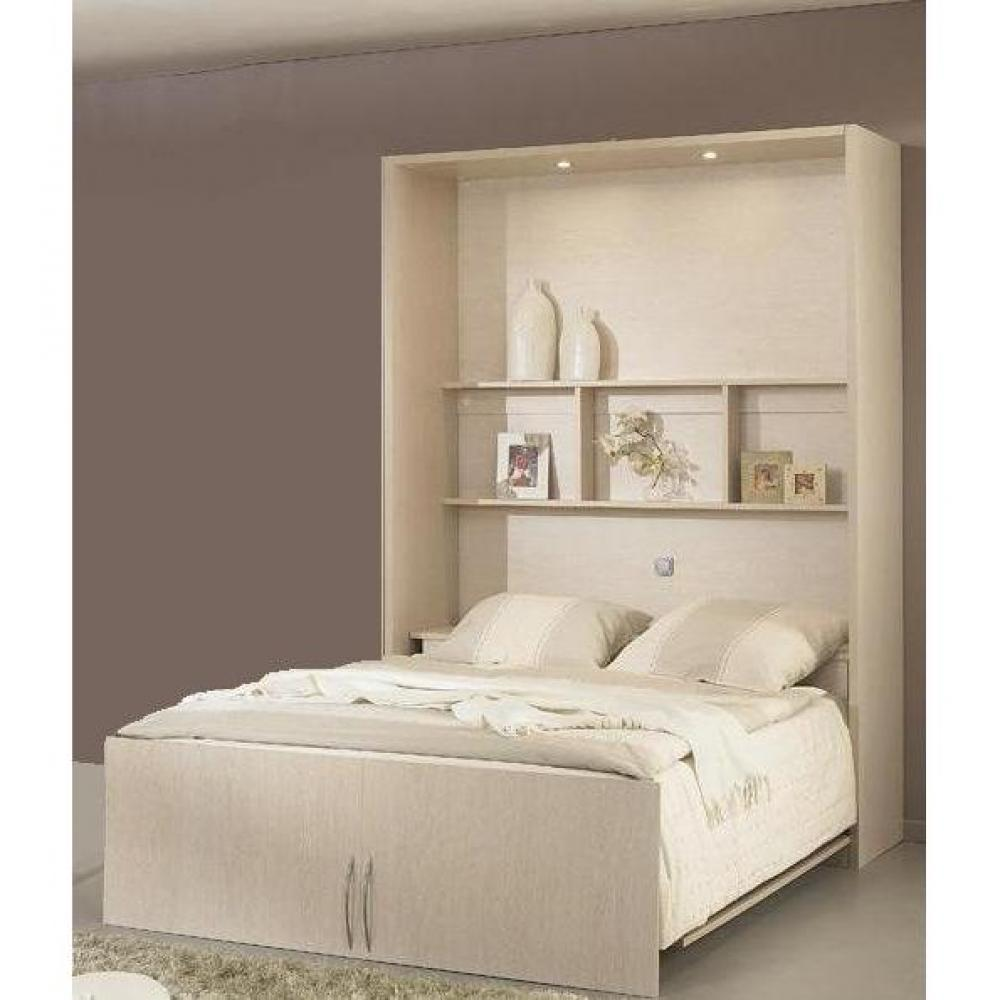 armoire lit escamotables au meilleur prix armoire lit campus paisseur structure 3cm couchage. Black Bedroom Furniture Sets. Home Design Ideas