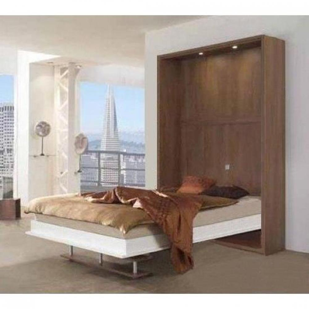 armoire lit escamotables au meilleur prix armoire lit 140cm escamotable campus pied balancelle. Black Bedroom Furniture Sets. Home Design Ideas