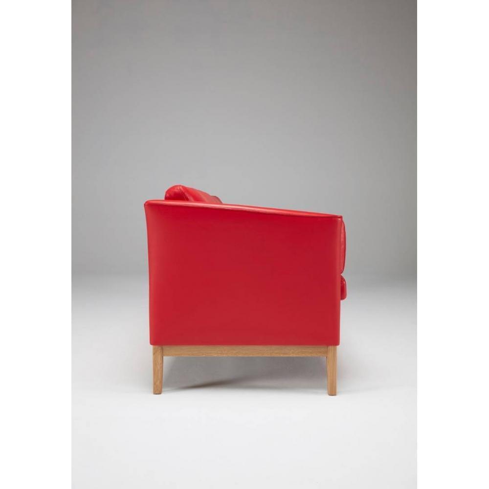 Canapé design scandinave PIA piétement chêne