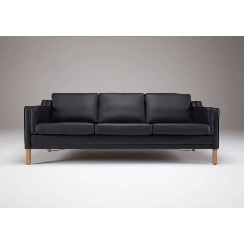 Chaises meubles et rangements canap 3 places design scandinave mia inside75 - Canape scandinave 3 places ...