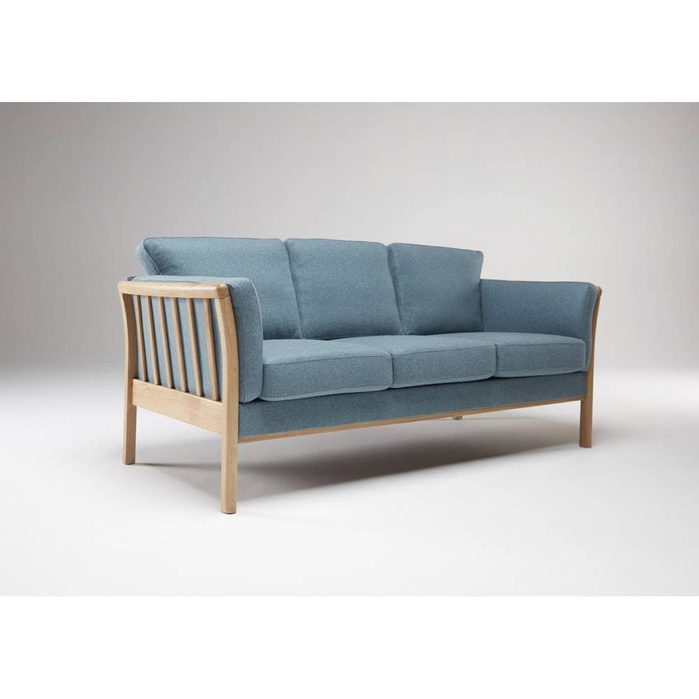 Canap fixe confortable design au meilleur prix canap 3 places design scandinave aya - Canape scandinave 3 places ...