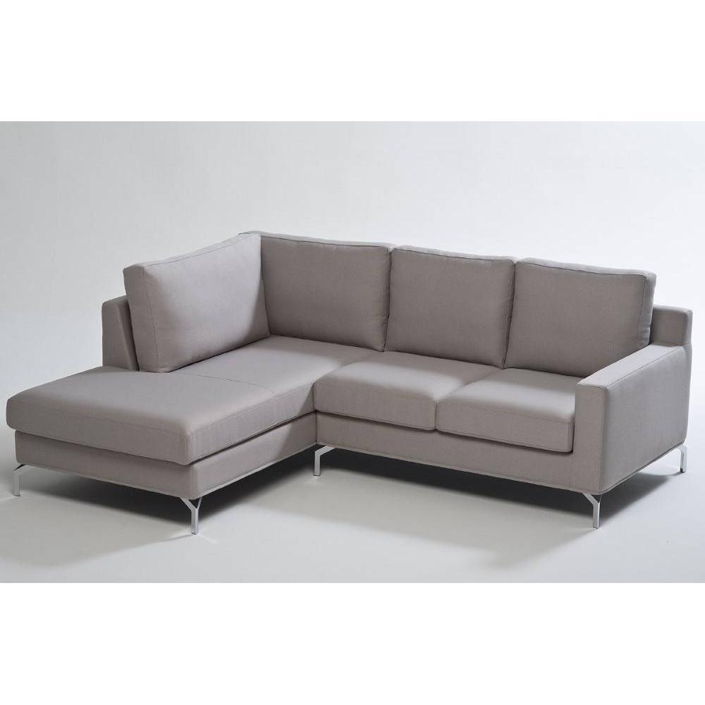 canap fixe confortable design au meilleur prix canap d 39 angle fixe gauche charlottetown. Black Bedroom Furniture Sets. Home Design Ideas