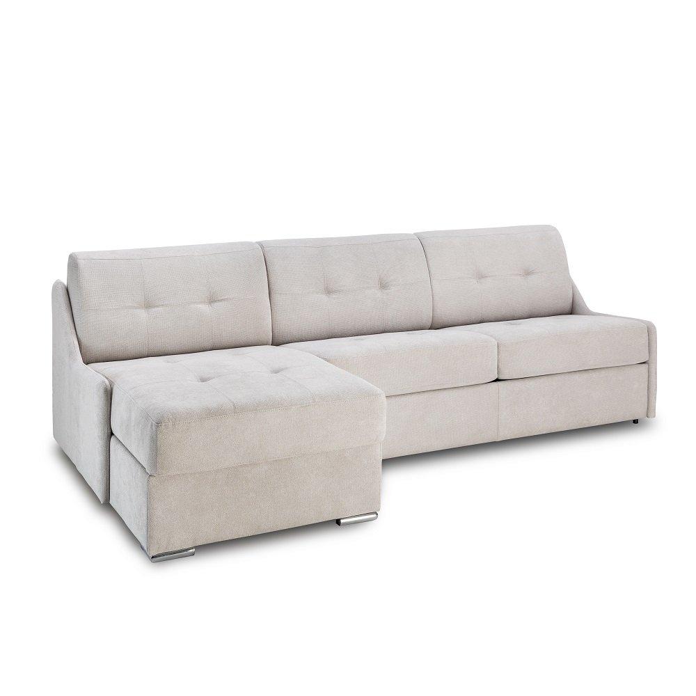 Canapé d'angle 2 places Tissu Contemporain Confort