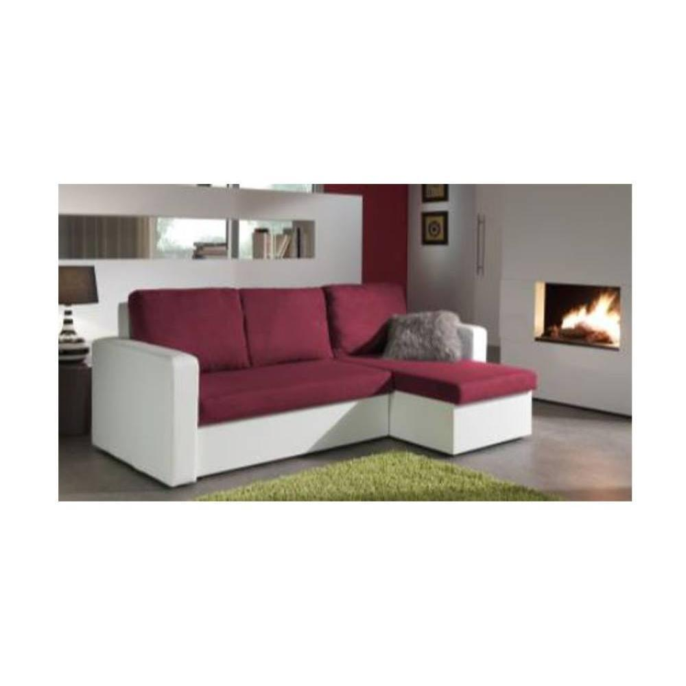 canap d 39 angle gigogne au meilleur prix canap d 39 angle convertible janus 140cm bi mati re prune. Black Bedroom Furniture Sets. Home Design Ideas