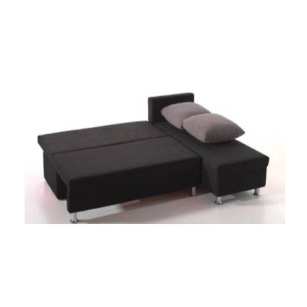 canap d 39 angle convertible au meilleur prix canap d 39 angle convertible zaurak en microfibre. Black Bedroom Furniture Sets. Home Design Ideas