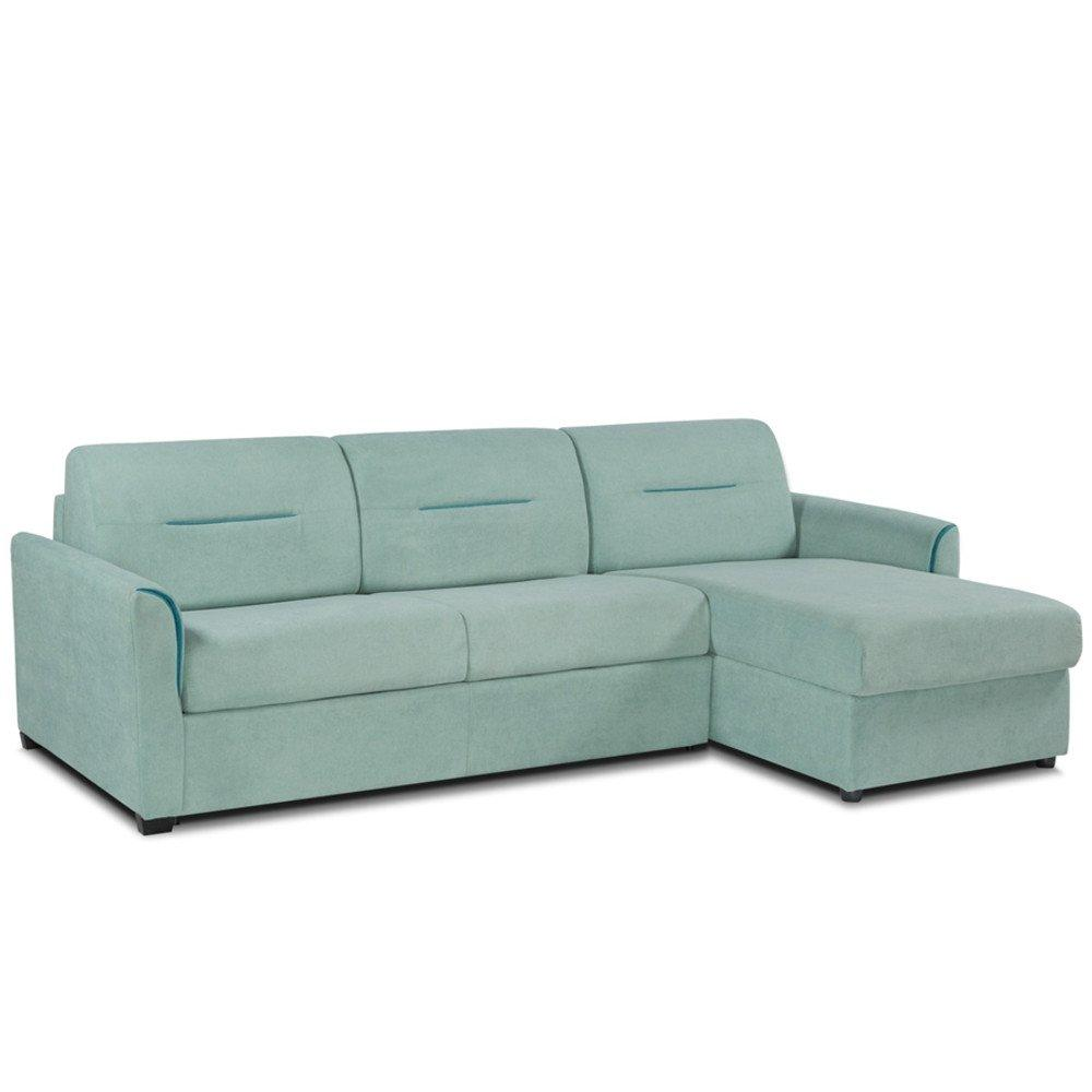 Canapé d'angle 3 places Tissu Design Confort