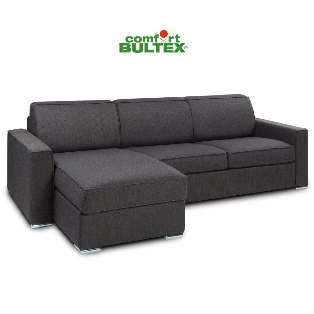 Canapé d'angle 3 places Tissu Confort