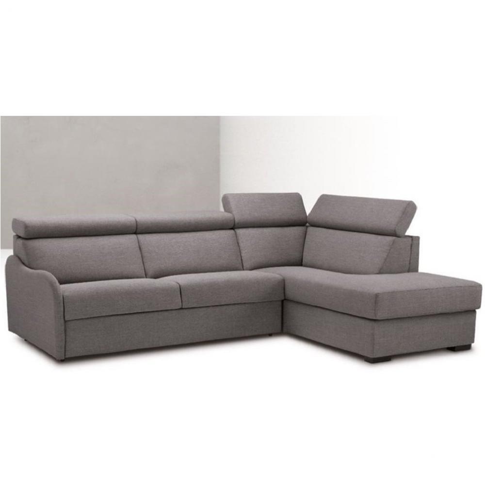 Canapé d'angle Tissu Moderne Confort Vert