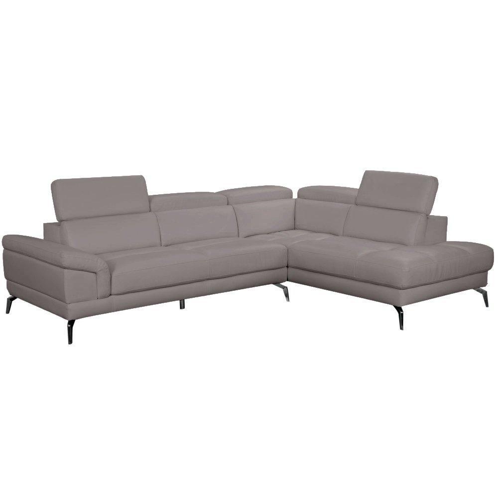 canap d 39 angle moderne et classique au meilleur prix canap d 39 angle droite fixe lido cuir. Black Bedroom Furniture Sets. Home Design Ideas