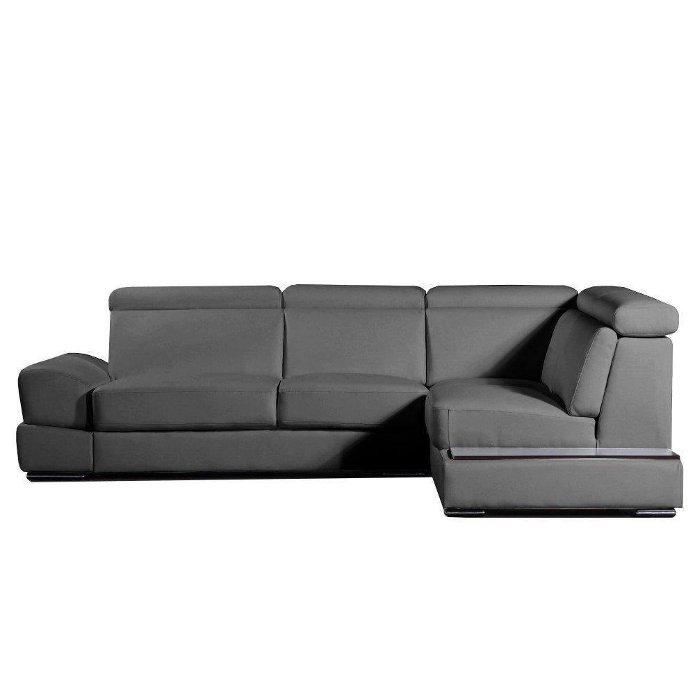 canap fixe confortable design au meilleur prix canap d 39 angle droite fixe longiano cuir. Black Bedroom Furniture Sets. Home Design Ideas
