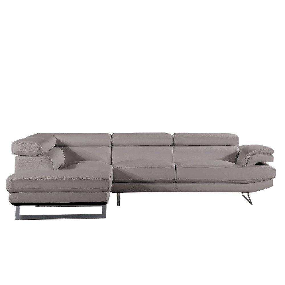canap d 39 angle moderne et classique au meilleur prix canap d 39 angle gauche fixe fiumana cuir. Black Bedroom Furniture Sets. Home Design Ideas