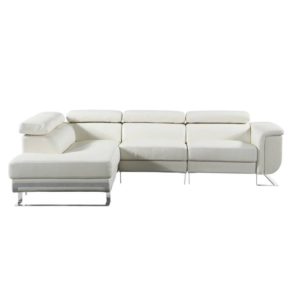 canap fixe confortable design au meilleur prix canap d 39 angle gauche fixe misano cuir. Black Bedroom Furniture Sets. Home Design Ideas