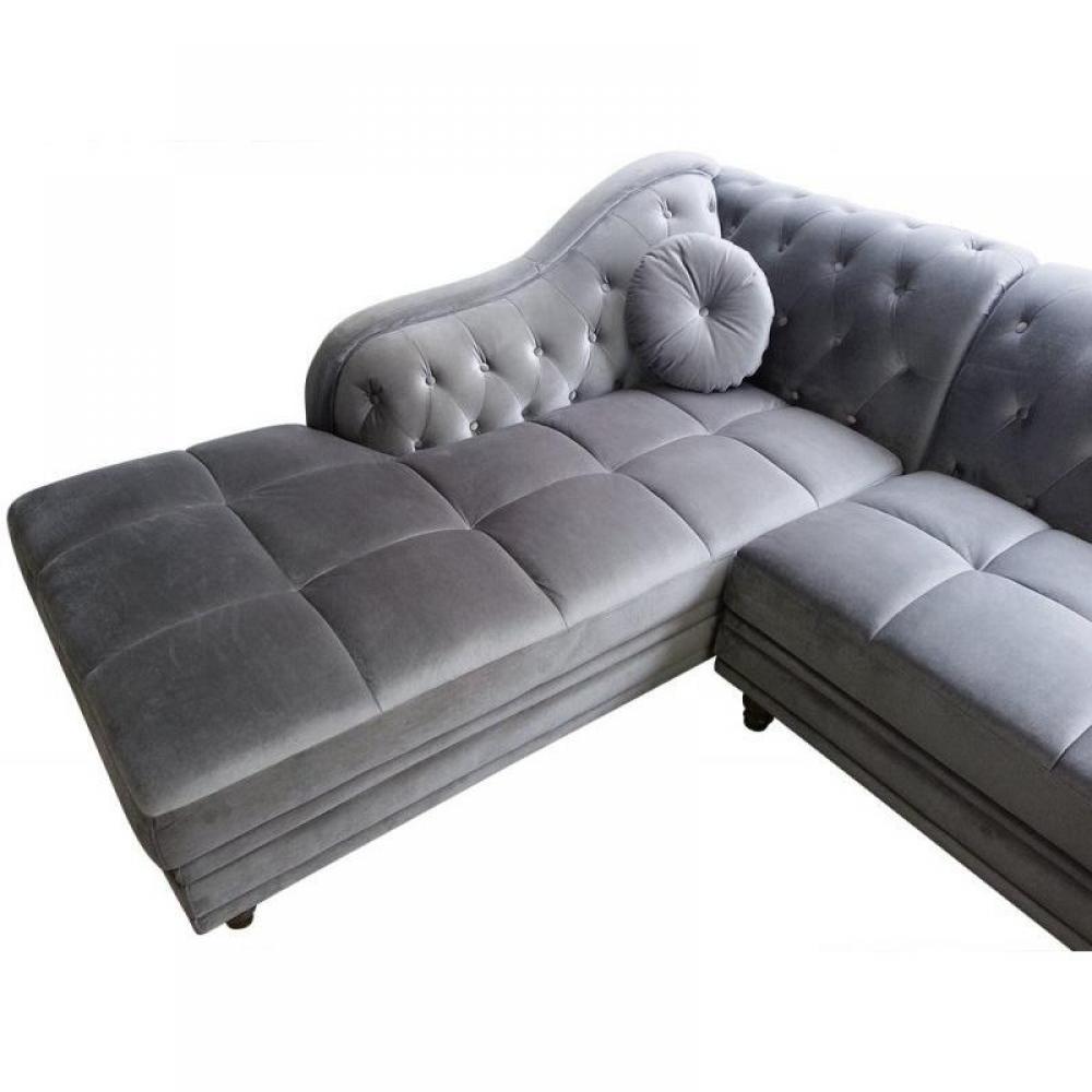 canap d 39 angle moderne et classique au meilleur prix canap d 39 angle gauche kingdom chesterfield. Black Bedroom Furniture Sets. Home Design Ideas