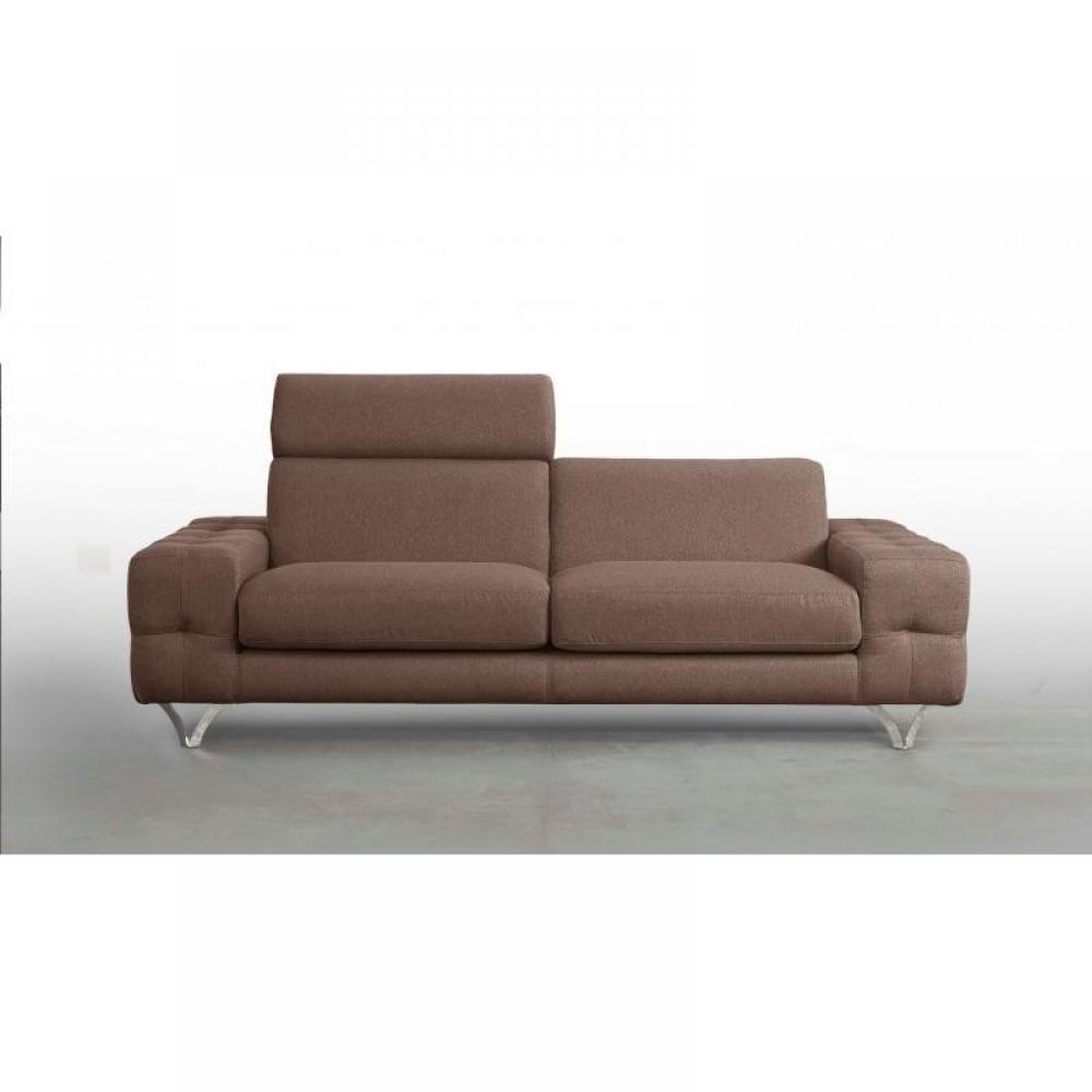canap fixe confortable design au meilleur prix canap fixe cayman 195 cm cuir ou tissu avec. Black Bedroom Furniture Sets. Home Design Ideas