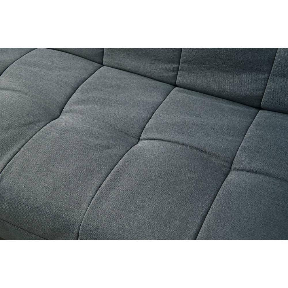 Canapé Clic Clac design scandinave VIKING tissu gris
