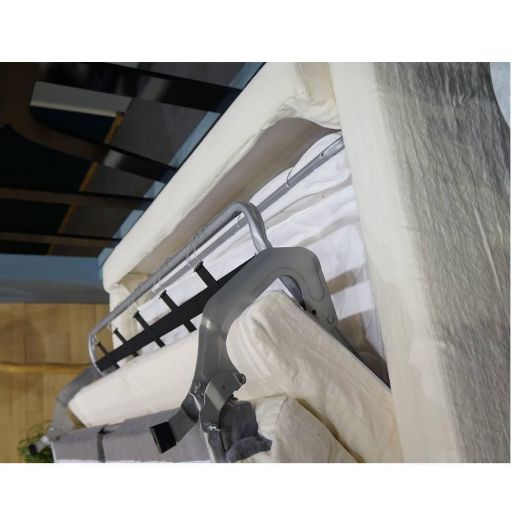 Canapé lit HOULGATE convertible 140cm ouverture rapido matelas confort BULTEX 14 cm