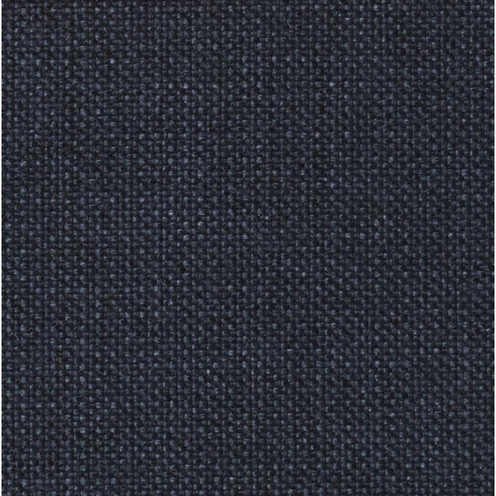 INNOVATION LIVING Canapé BURI Styletto bleu convertible lit 115*200 cm piétement noyer