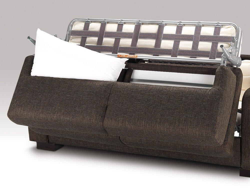 Canapé Convertible DINA MEDIUM Ouverture Assistée Couchage 120*200 Matelas 14 cm