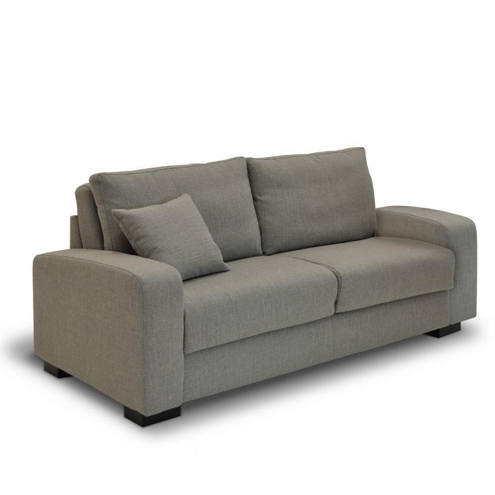 Canapé Convertible DINA MAXI Ouverture Assistée Couchage 140*200 Matelas 14 cm