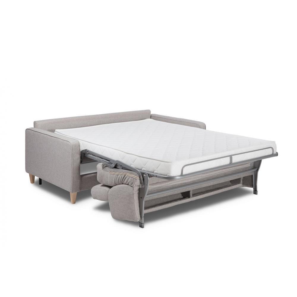 Canapé rapido GROENLAND matelas 14 cm sommier lattes 120 cm