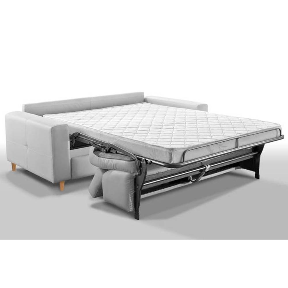 Canapé convertible SUÈDE express 140 cm matelas 16 cm sommier lattes