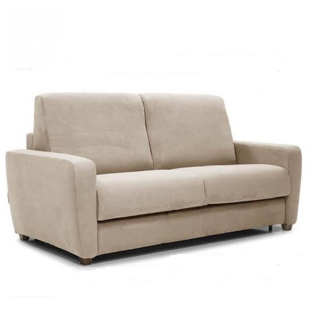 Canapé droit 3 places Tissu Confort