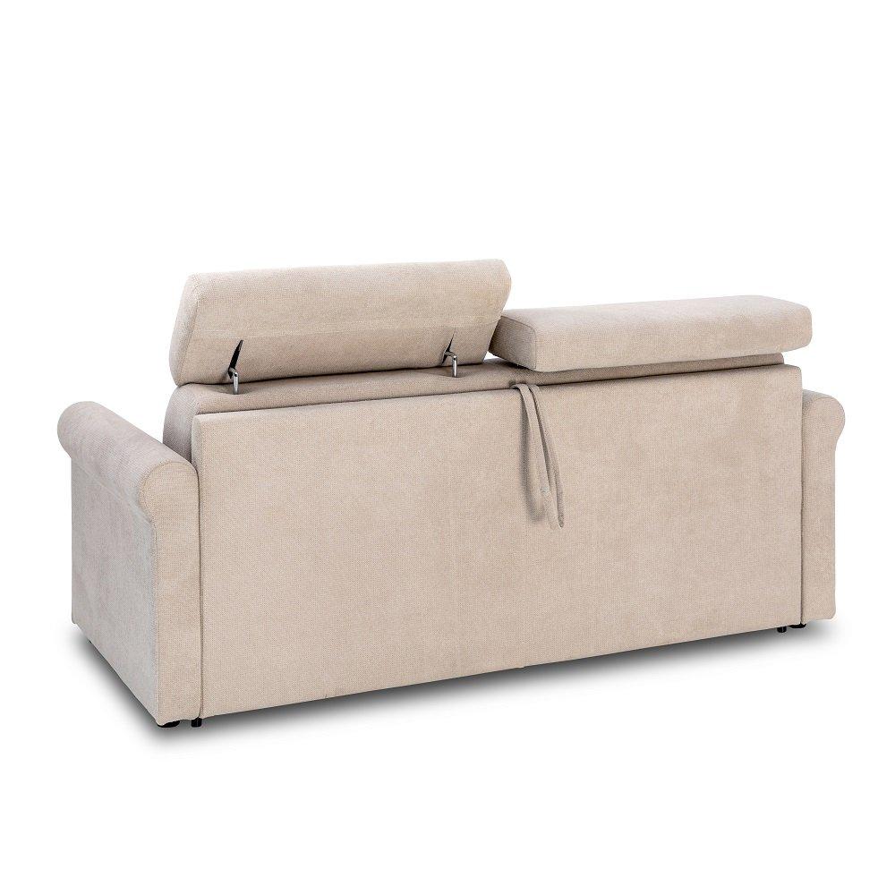 Canapé convertible EXPRESS VAUGIRARD couchage 160cm sommier lattes matelas 16cm