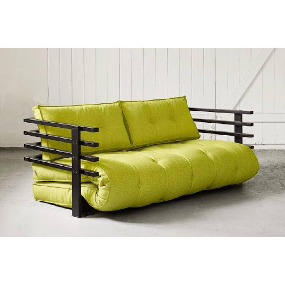 canap banquette futon convertible au meilleur prix canap convertible noir funk futon. Black Bedroom Furniture Sets. Home Design Ideas