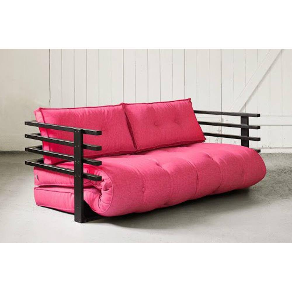Canap banquette futon convertible au meilleur prix canap convertible noir funk futon rose - Canape convertible futon ...