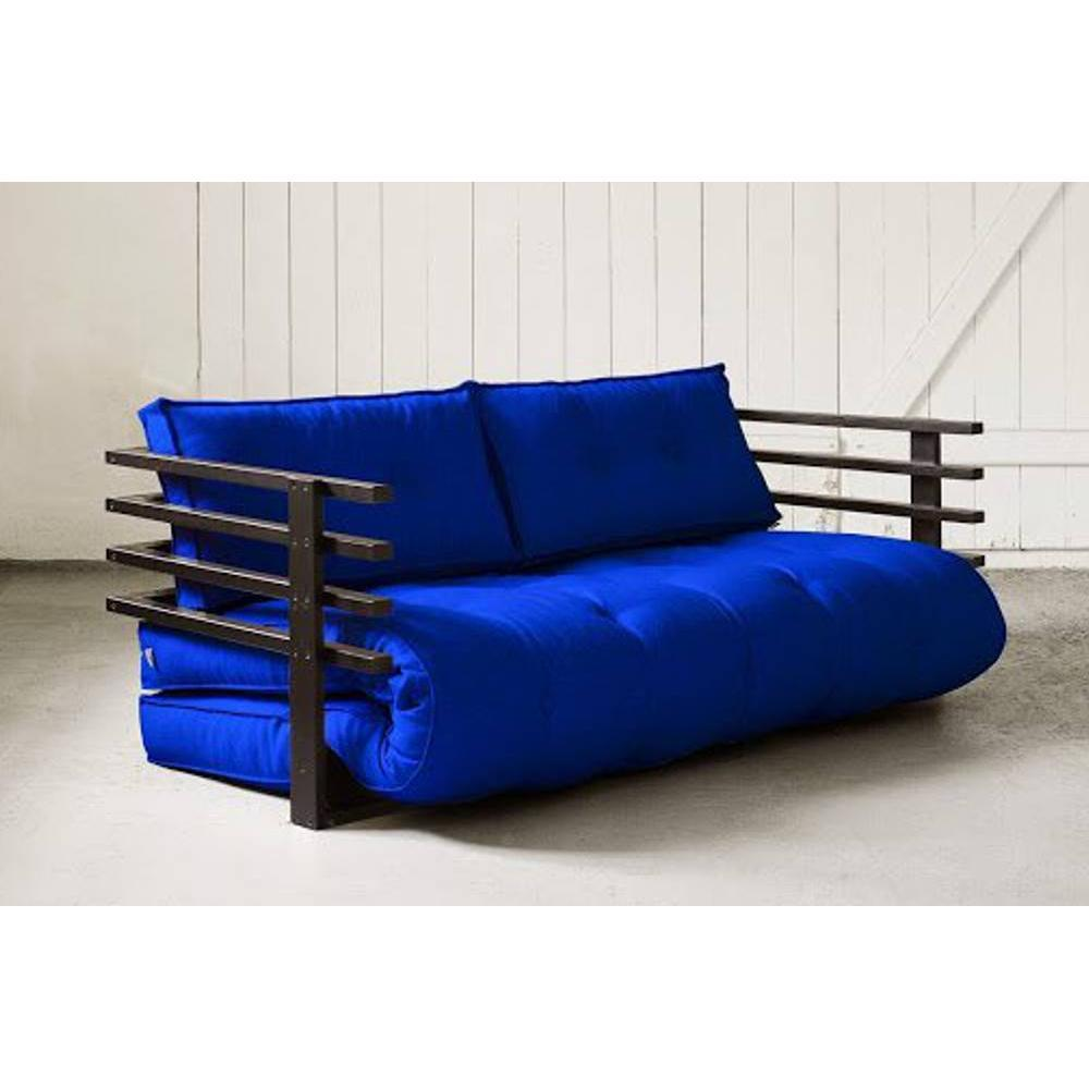canap banquette futon convertible au meilleur prix canap convertible noir funk futon bleu. Black Bedroom Furniture Sets. Home Design Ideas