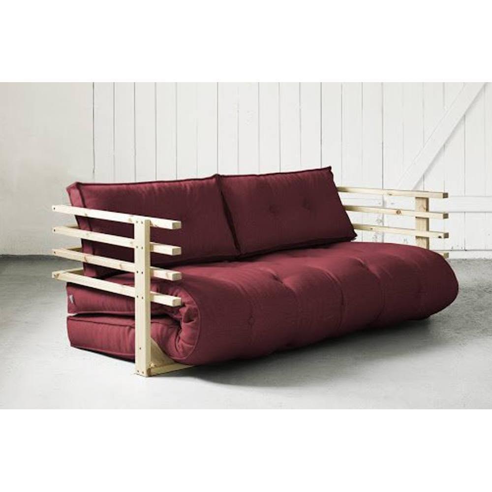 Canap banquette futon convertible au meilleur prix canap convertible - Canape convertible bordeaux ...
