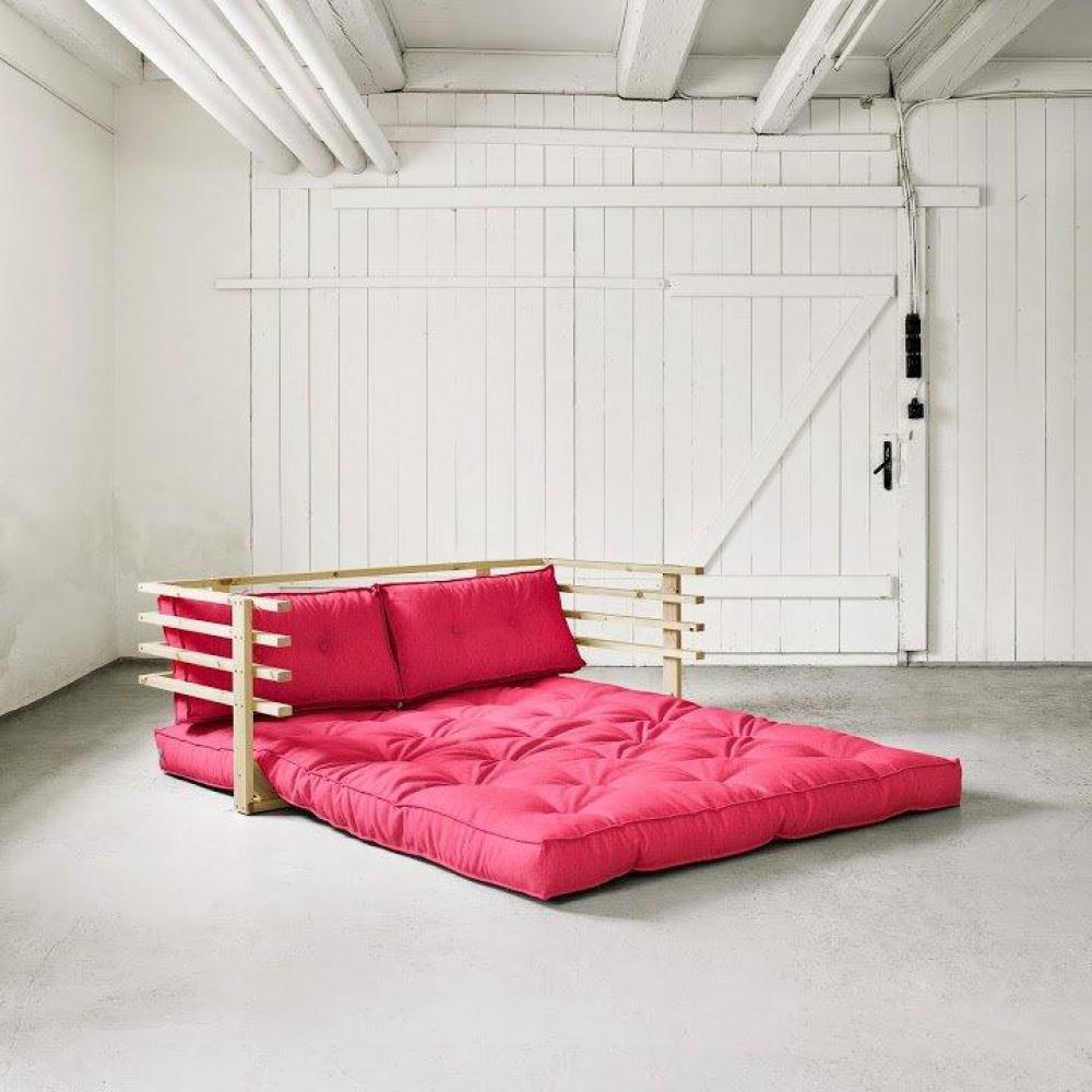 canap banquette futon convertible au meilleur prix canap convertible en pin massif funk. Black Bedroom Furniture Sets. Home Design Ideas
