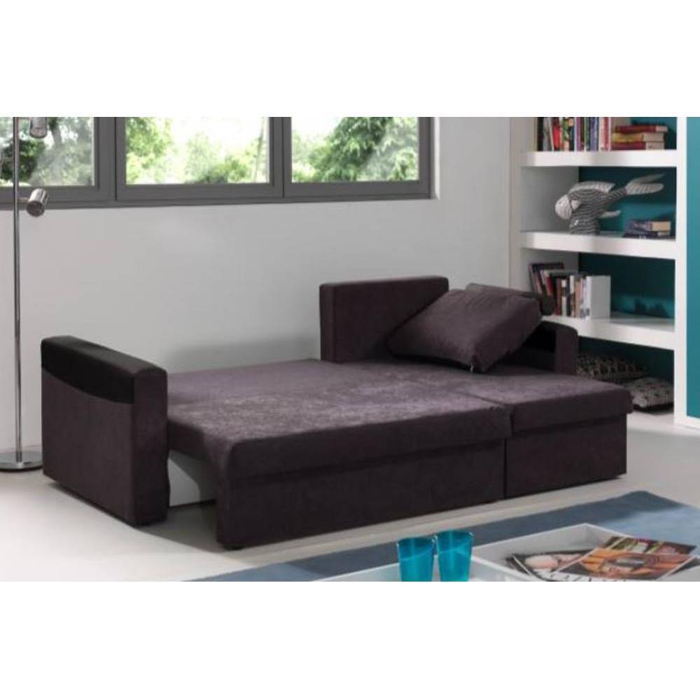 canap convertible au meilleur prix canap d 39 angle convertible himalia 130cm bi mati re inside75. Black Bedroom Furniture Sets. Home Design Ideas