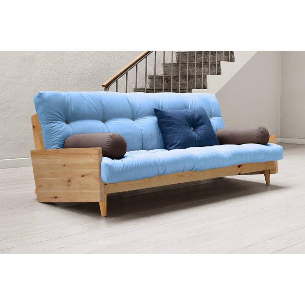 Letto fouton letto futon legno massello xx with letto for Letto futon ikea