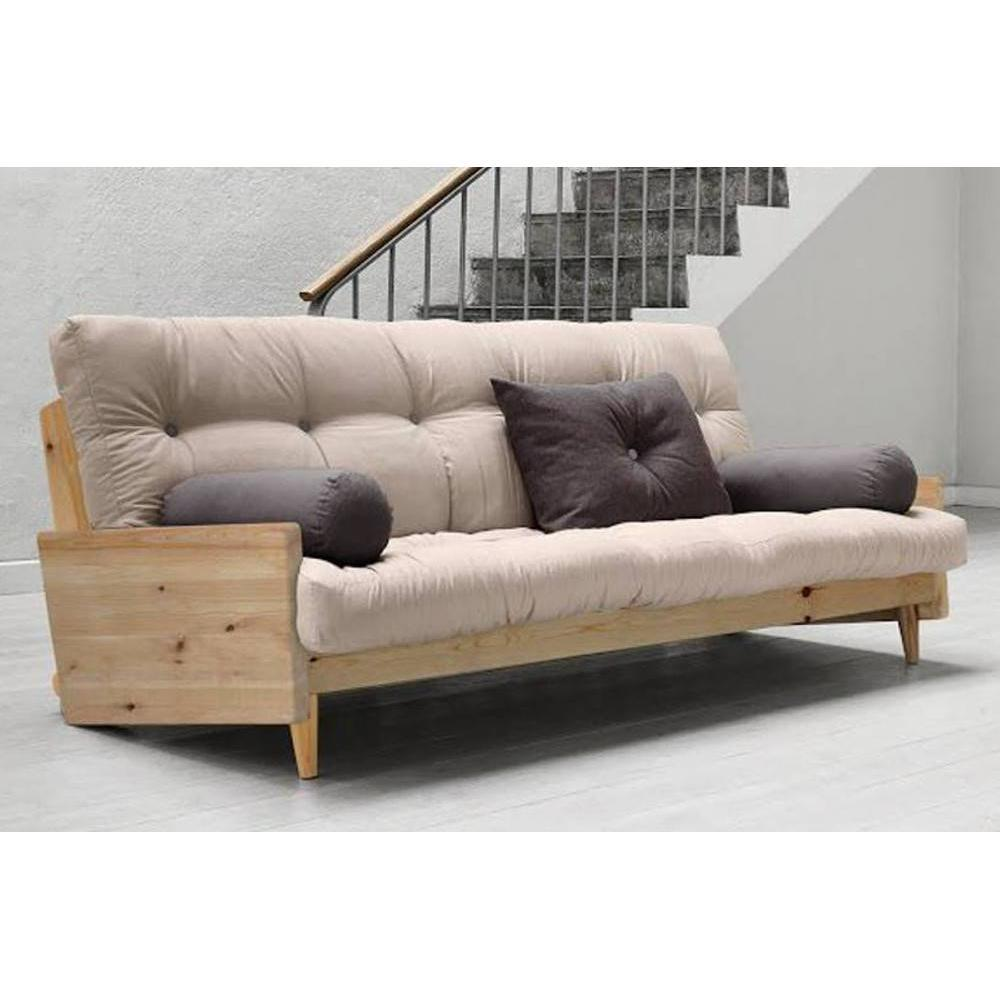 canap banquette futon convertible au meilleur prix canap 3 4 places convertible indie style. Black Bedroom Furniture Sets. Home Design Ideas