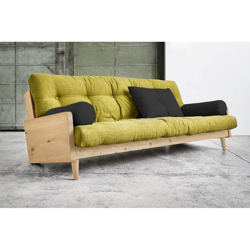 canap s futon canap s rapido canap 3 4 places convertible indie style scandinave futon vert. Black Bedroom Furniture Sets. Home Design Ideas