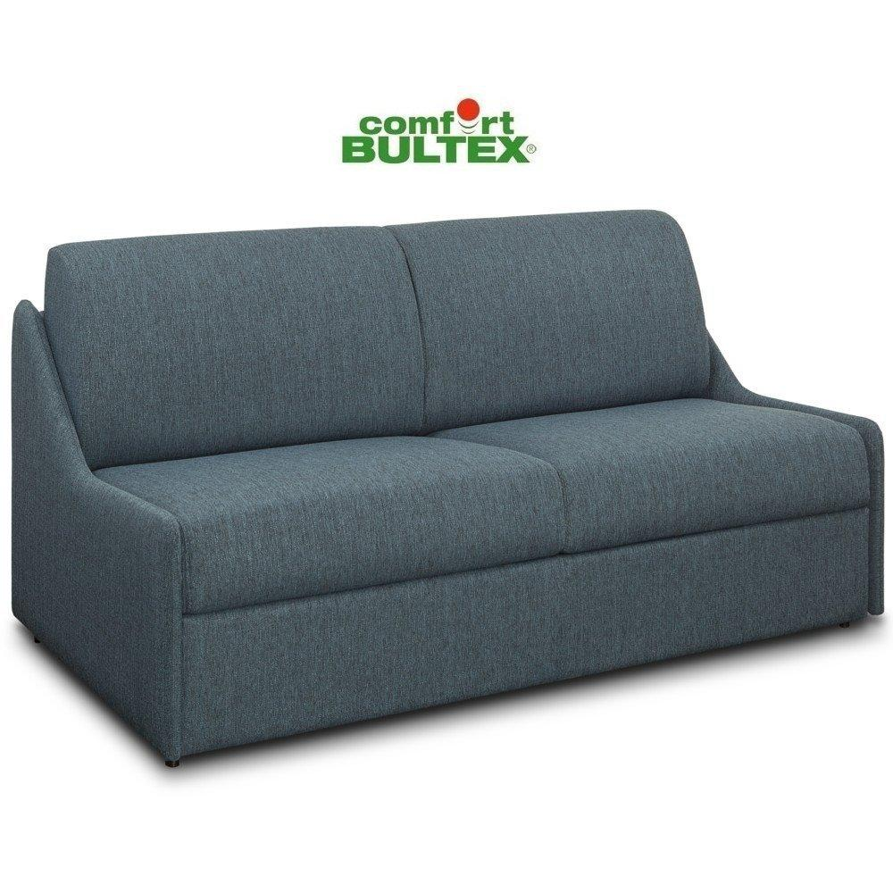 Canapé lit compact 3-4 places MAGNIFICO matelas 160cm comfort BULTEX® 16cm sommier lattes RENATONISI