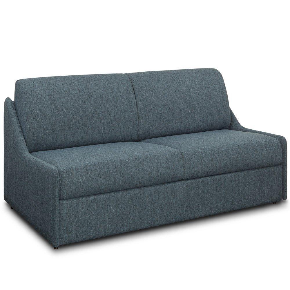 Canapé lit rapido compact 3 places RISTRETTO 140cm matelas 16cm sommier à lattes
