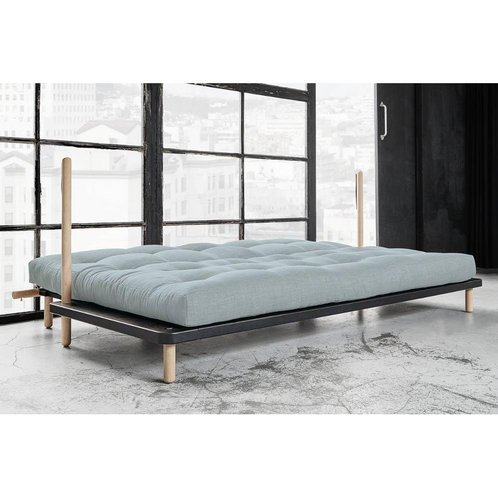 canap banquette futon convertible au meilleur prix canap convertible point style scandinave. Black Bedroom Furniture Sets. Home Design Ideas