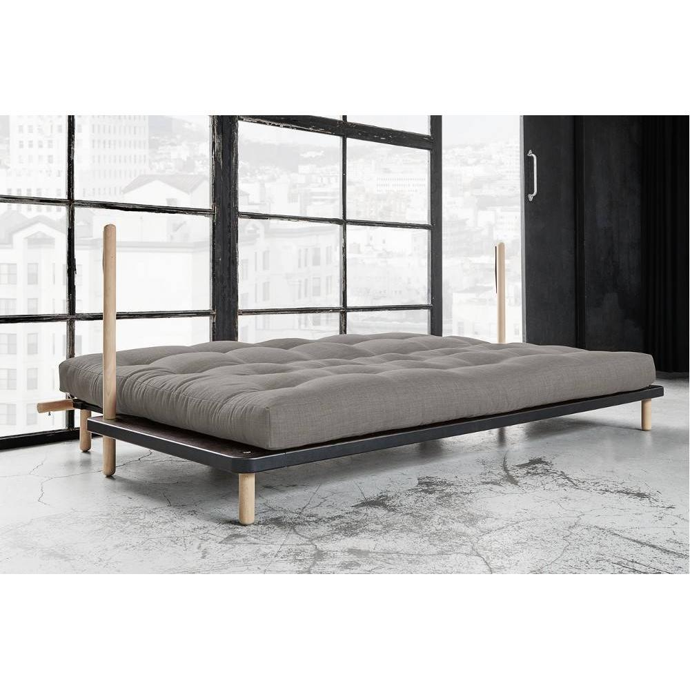 canap lit clic clac au meilleur prix canap convertible point style scandinave matelas futon. Black Bedroom Furniture Sets. Home Design Ideas